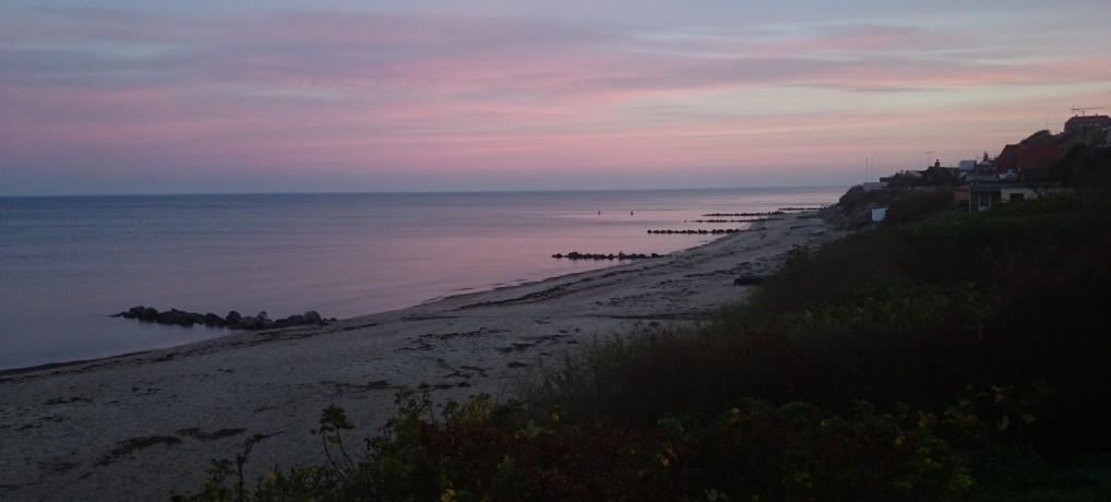 Smuk november morgen